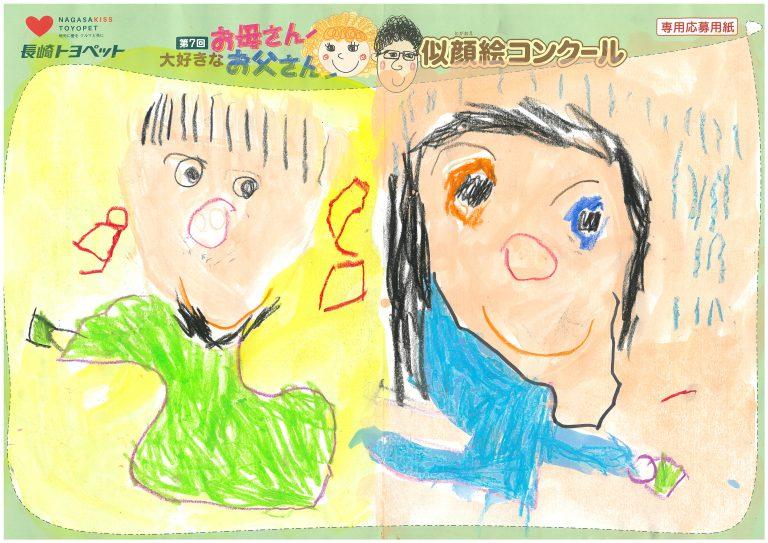 K.Wちゃん(4才)の作品