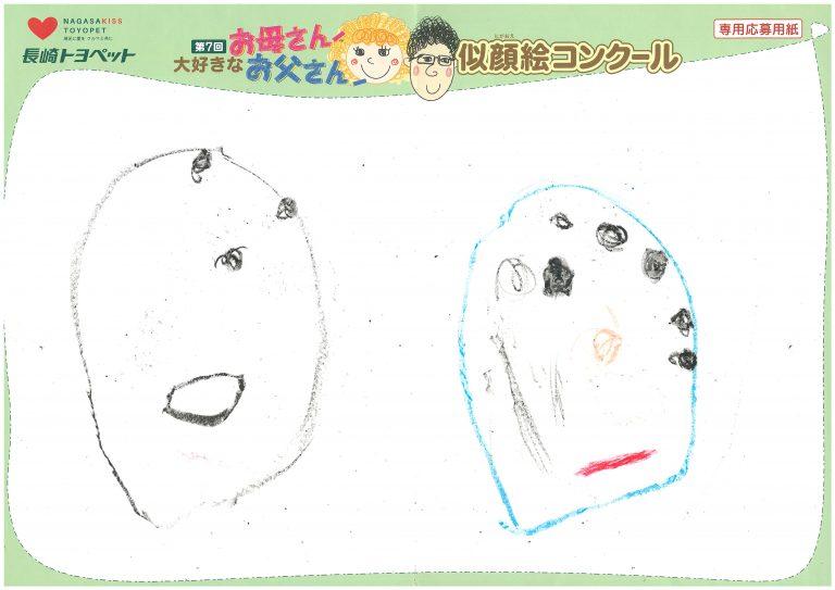 M.Eちゃん(2才)の作品