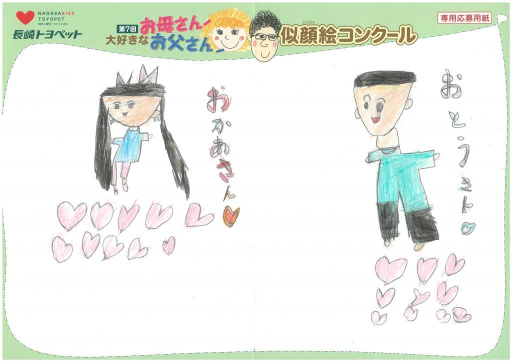 Y.Iちゃん(7才)の作品