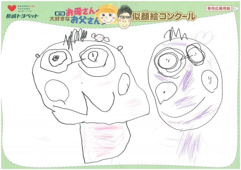 M.Sちゃん(4才)の作品