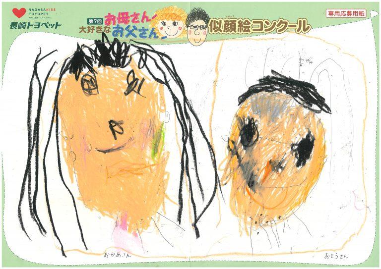 K.Mちゃん(4才)の作品