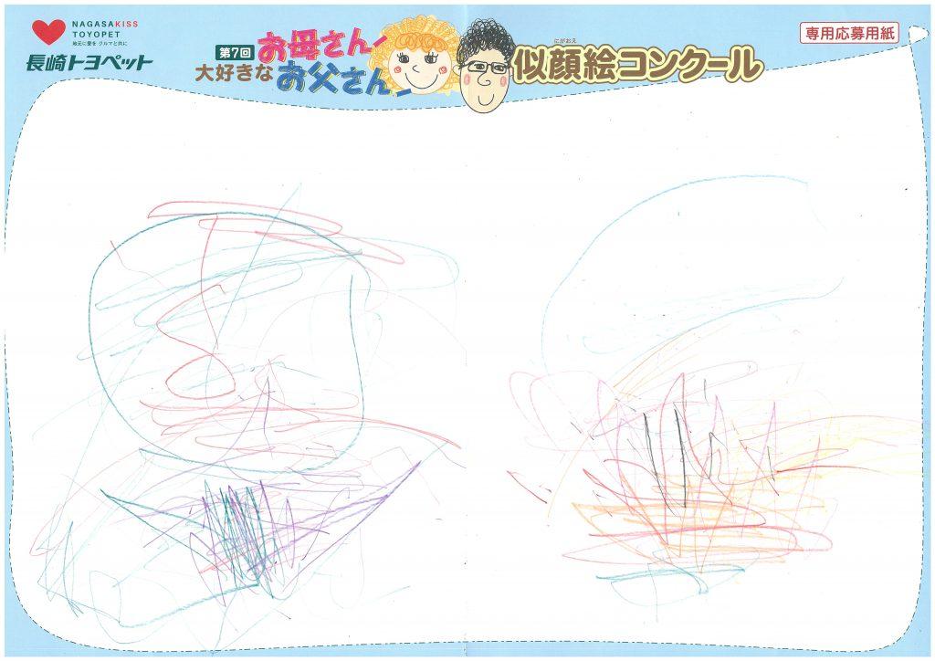 R.Hちゃん(1才)の作品