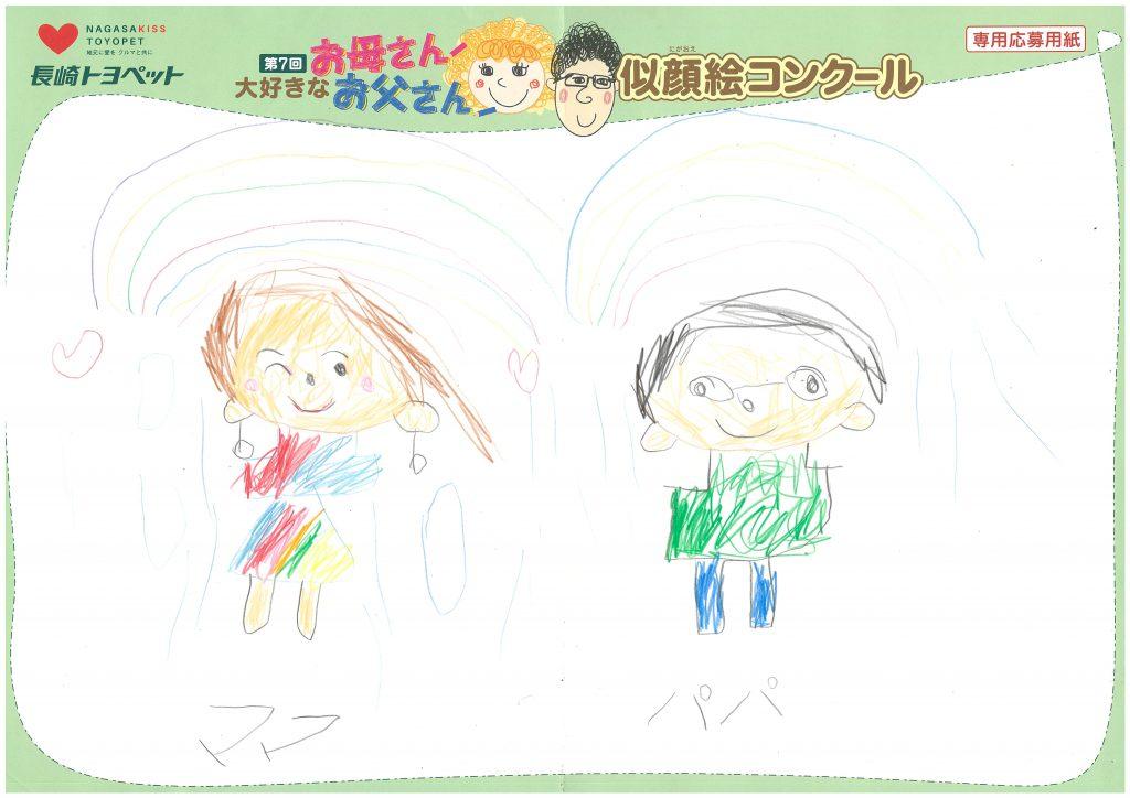 S.Sちゃん(5才)の作品