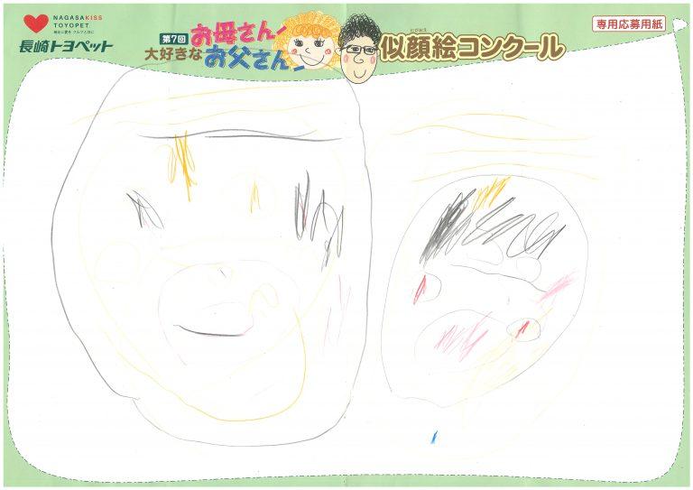W.Sちゃん(3才)の作品