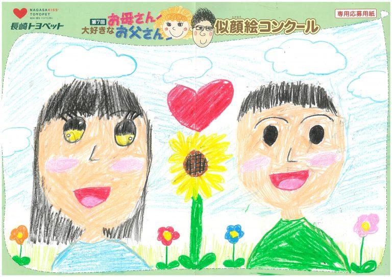 R.Oちゃん(8才)の作品