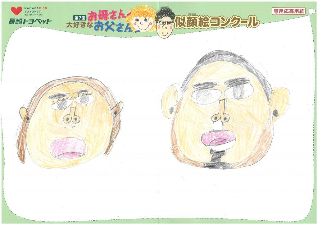 S.Oくん(9才)の作品