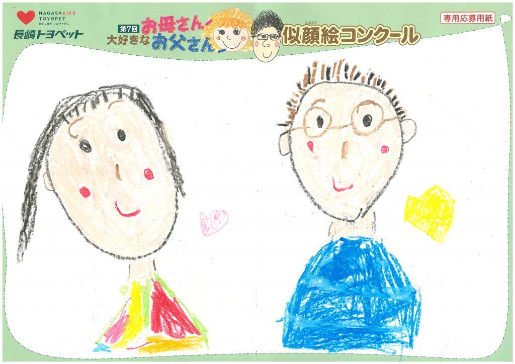 Y.Mちゃん(4才)の作品