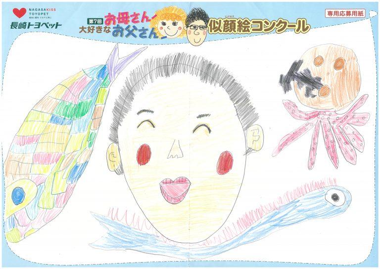 M.Hくん(7才)の作品