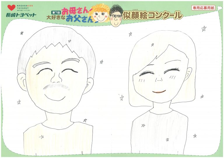 K.Hちゃん(10才)の作品